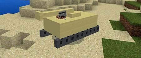 Mine Tanks mcpe 3