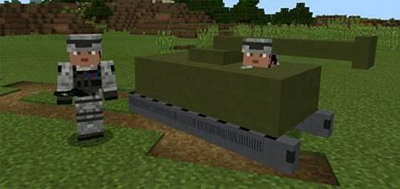 Mine Tanks mcpe 1