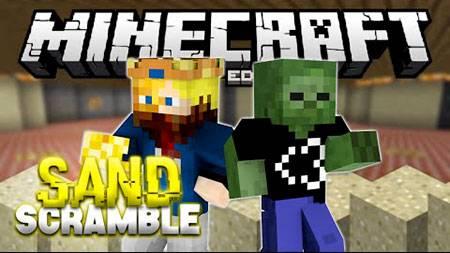 Карта Sand Scrambler для Minecraft PE