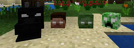 Herobrines Everywhere mcpe 3