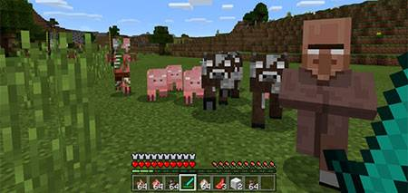 Herobrines Everywhere mcpe 1