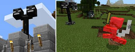 Wither Turrets mcpe 2