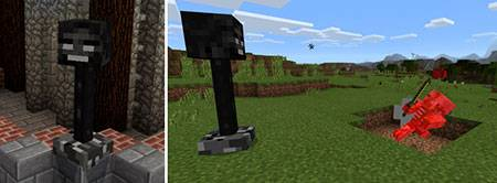 Wither Turrets mcpe 3