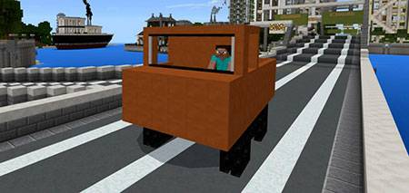 Mine Trucks mcpe 2