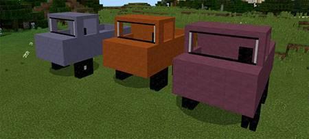 Mine Trucks mcpe 1