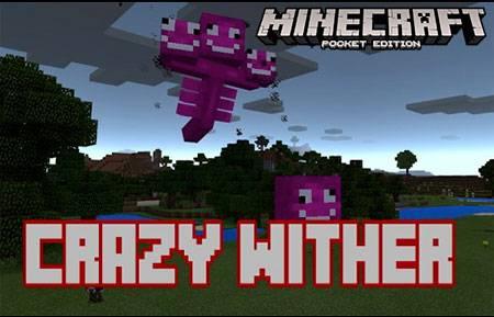 Мод Crazy Wither для Minecraft PE