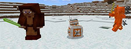 BB-8: A Star Wars mcpe 3