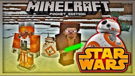 Мод BB-8: A Star Wars для Minecraft PE