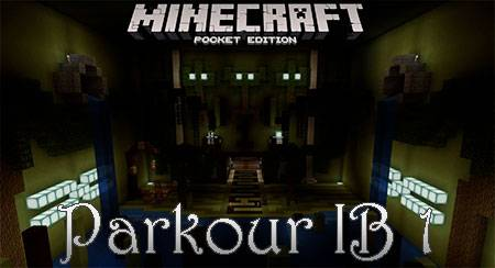 Карта Parkour IB 1 для Minecraft PE