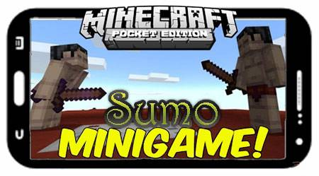 Карта Sumo для Minecraft PE