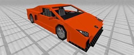 Sport Car: Lamborghini mcpe 4