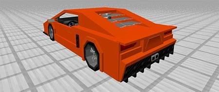 Sport Car: Lamborghini mcpe 5