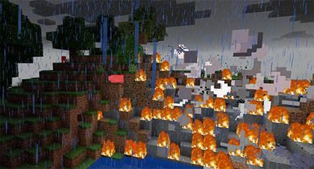 Explosive Lightning mcpe 1