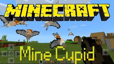 Мод Mine Cupid для Minecraft PE