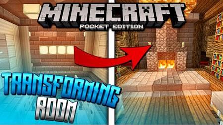 Карта The Transforming Room для Minecraft PE