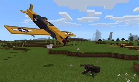 War Planes mcpe 3