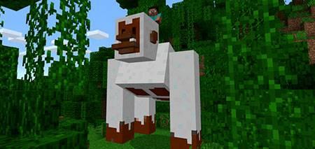 Giant Snow Gorilla mcpe 2