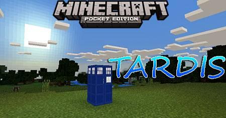 Мод TARDIS для Minecraft PE