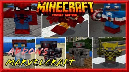 Мод MarvelCraft для Minecraft PE