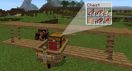 Wooden Plane mcpe 1