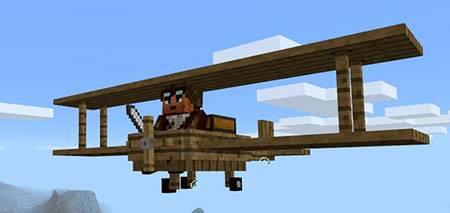 Wooden Plane mcpe 2