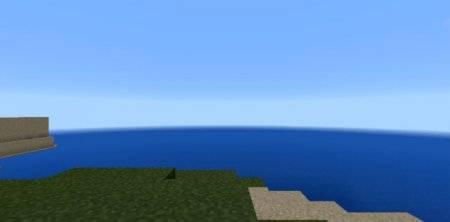 Маленькая деревня на острове mcpe 1