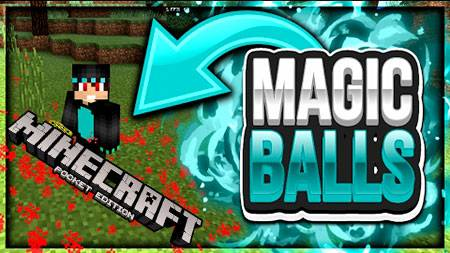 Мод Wizard Magic Balls для Minecraft PE
