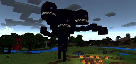 Wither Storm mcpe 2