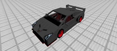 Lamborghini Veneno mcpe 4