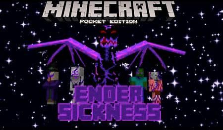 Мод Ender Sickness для Minecraft PE