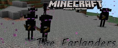 Мод The Farlanders для Minecraft PE
