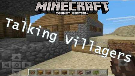 Мод Talking Villagers для Minecraft PE