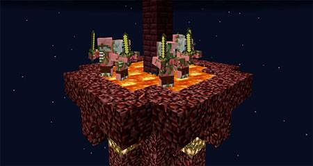 Sky Survival Islands mcpe 2