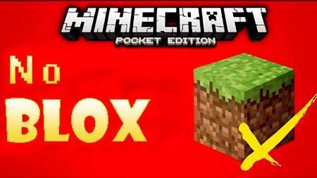 Текстуры No Blox для Minecraft PE