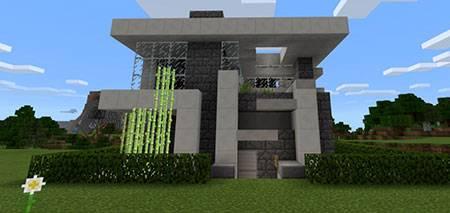 Piston House 17x17 mcpe 1