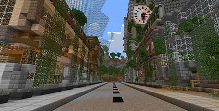 Apocalyptic City mcpe 5