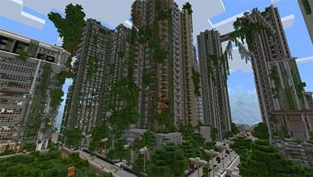 Apocalyptic City mcpe 6
