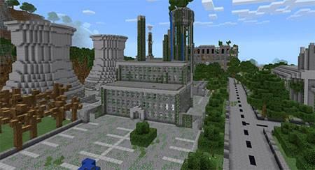Apocalyptic City mcpe 7