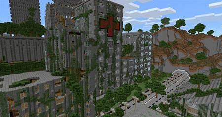 Apocalyptic City mcpe 4