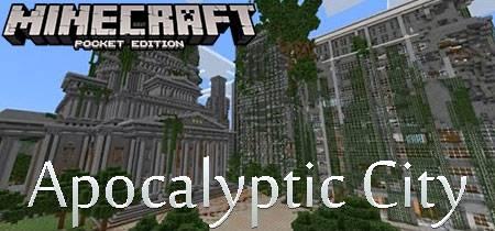 Карта Apocalyptic City для Minecraft PE