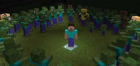 Мод All Quiet Entities для Minecraft PE