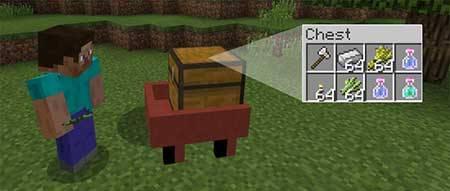Мод Mine-Wagon для Minecraft PE