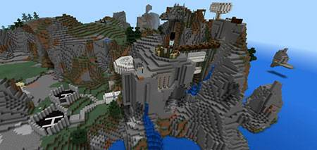 Epic Cliffs mcpe 1