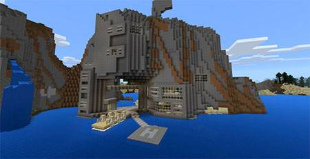 Epic Cliffs mcpe 3