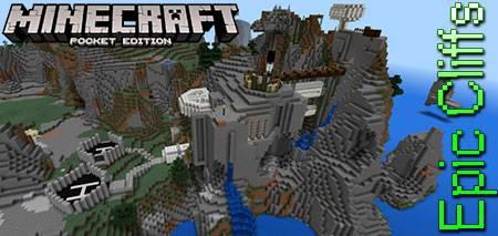 Карта Epic Cliffs для Minecraft PE