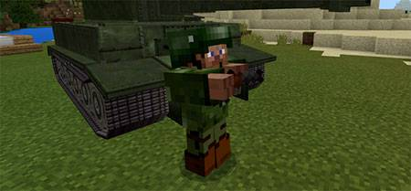 War Tanks mcpe 8