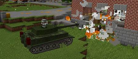 War Tanks mcpe 2