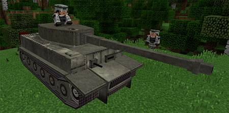 War Tanks mcpe 1