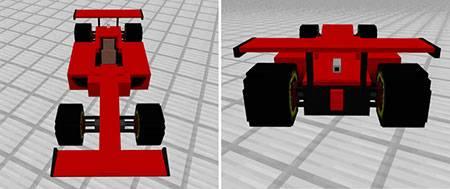 Sport Car: Formula One mcpe 4