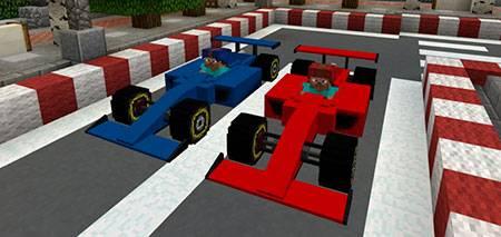 Sport Car: Formula One mcpe 1